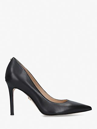 Sam Edelman Hazel Stiletto Heel Court Shoes, Black