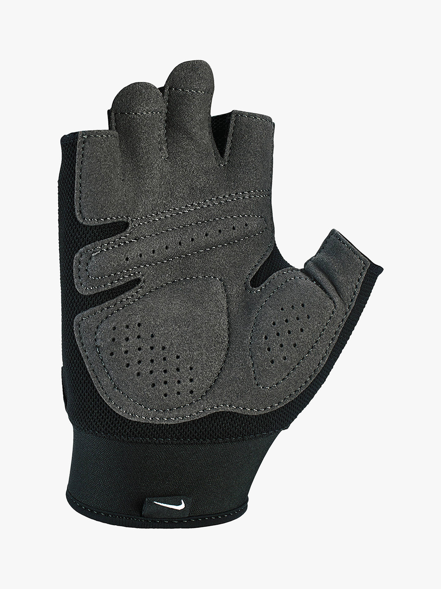best sneakers be915 27657 ... Buy Nike Extreme Fitness Training Gloves, Blue Force Black Thunderstorm,  M Online
