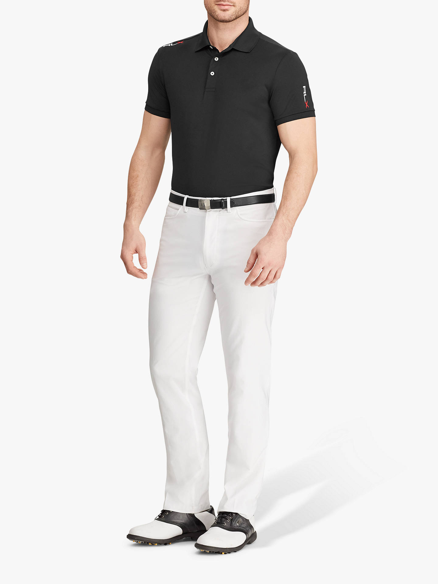 40580b3dfa0 Polo Golf by Ralph Lauren Active Fit Performance Polo Shirt at John ...