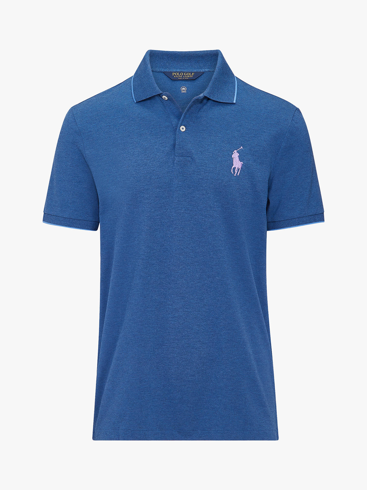 5a172fdab Polo Golf by Ralph Lauren Custom Slim Fit Performance Polo Shirt ...