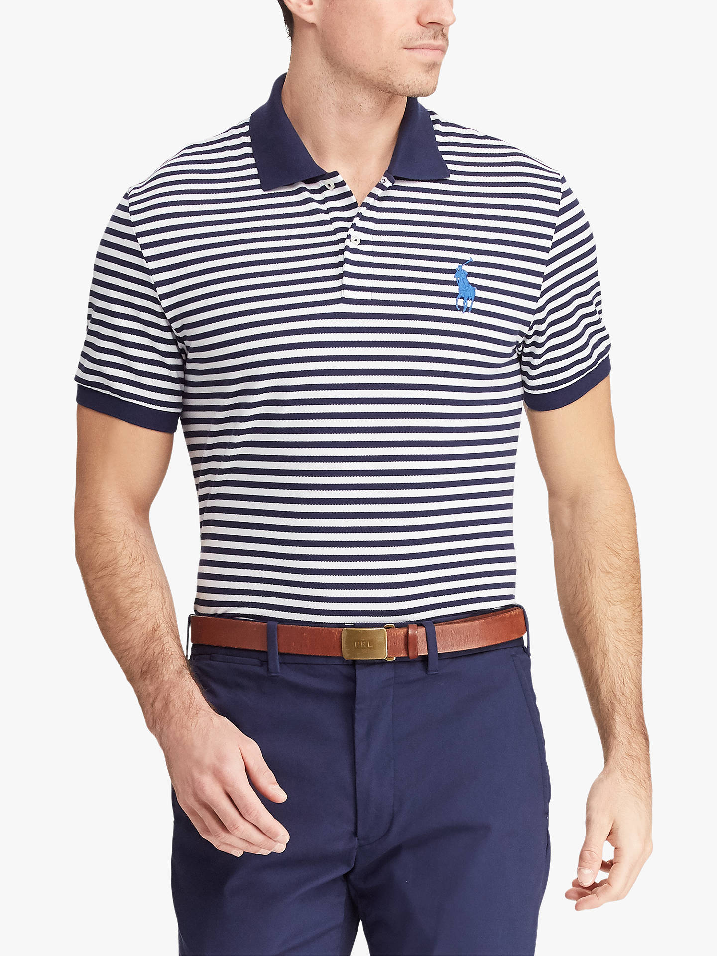 8820b7c31 Polo Golf by Ralph Lauren Custom Slim Fit Performance Polo Shirt ...
