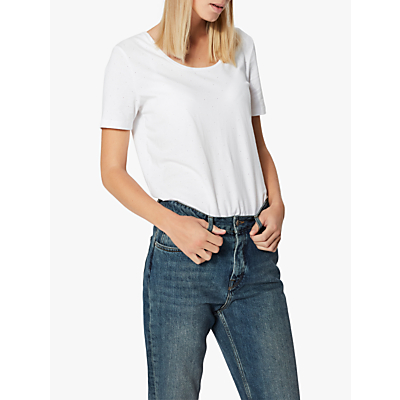Selected Femme Sally T-Shirt, White
