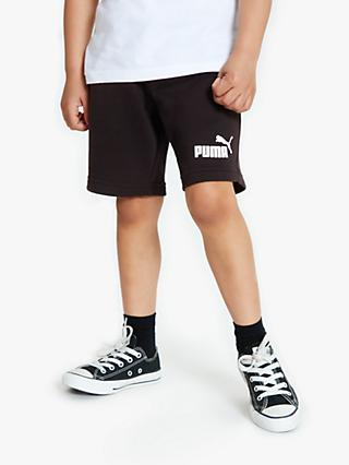 d21d79b71 PUMA Children's Active Sweat Shorts, Black