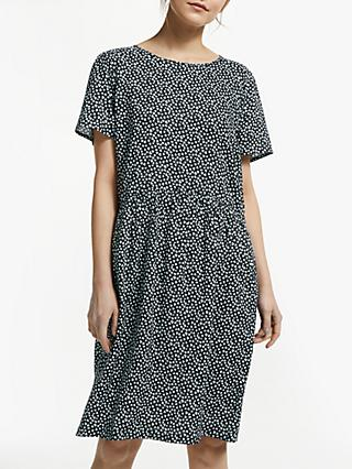 Collection WEEKEND by John Lewis Sketchy Heart Dress, Black/White