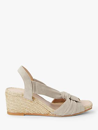 Modern Rarity Twist Front Wedge Heel Sandals