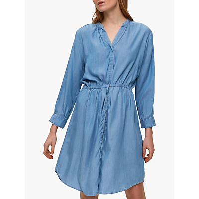 Selected Femme Marla Dress, Light Blue Denim