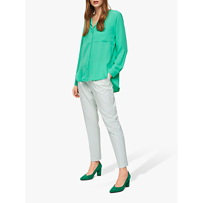 Selected Femme Dynella Shirt, Gum Drop Green