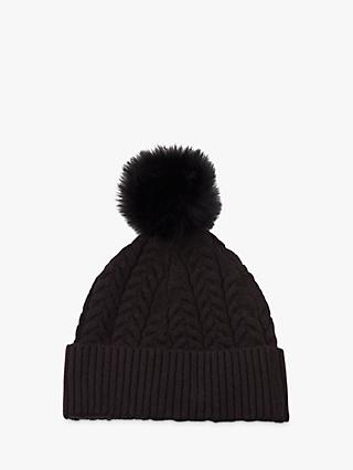 French Connection Rita Cable Beanie Hat a8d06fe1eb34