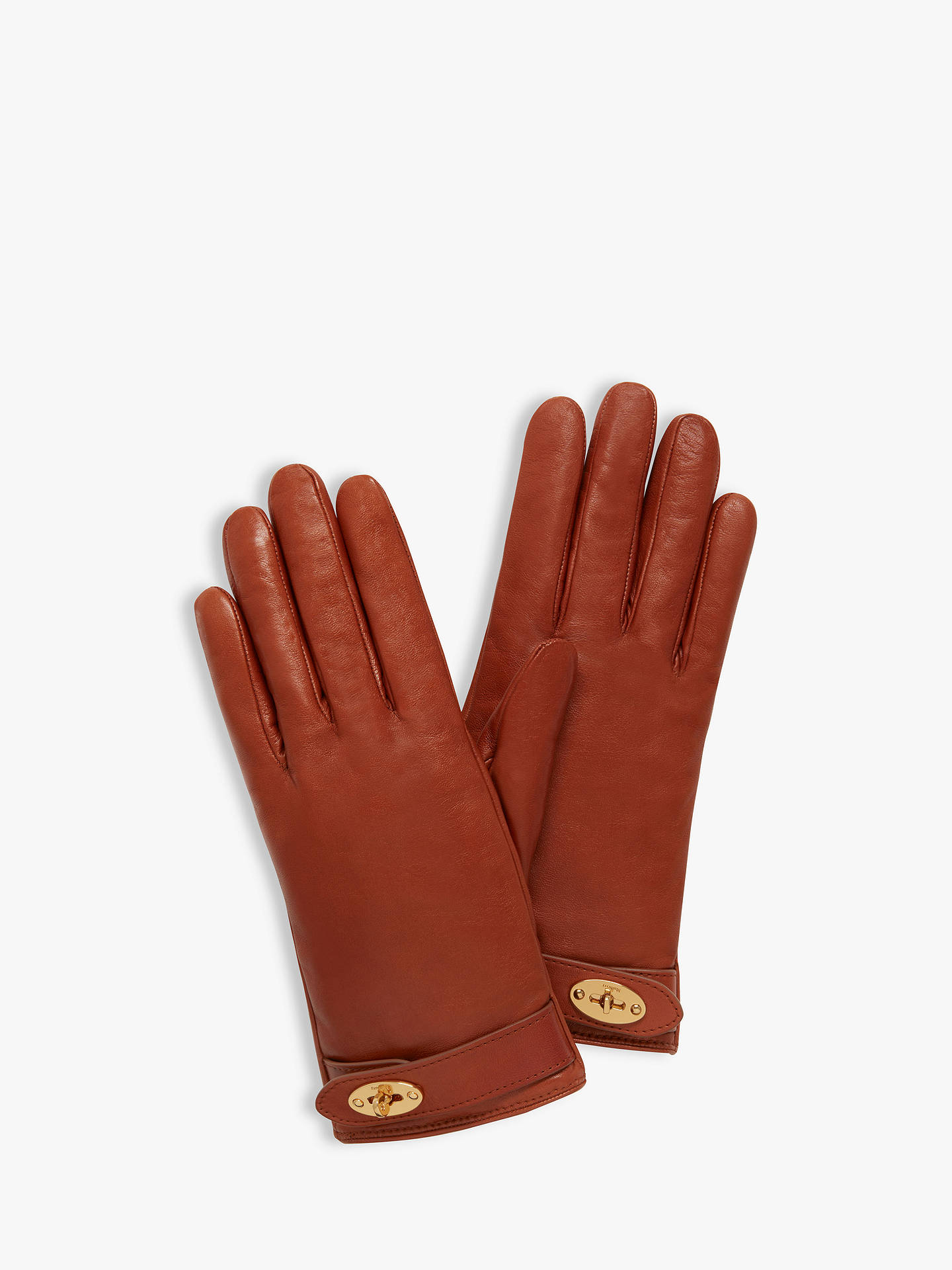 985426b1abe91 Buy Mulberry Women s Darley Nappa Leather Gloves