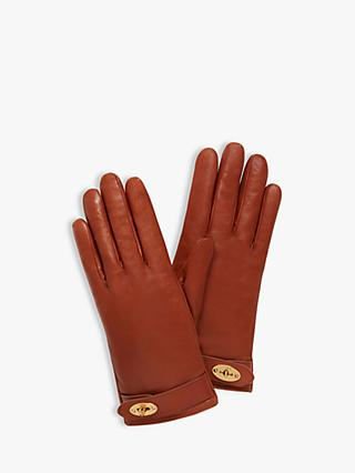 fc1a8048e7549 Mulberry Women s Darley Nappa Leather Gloves