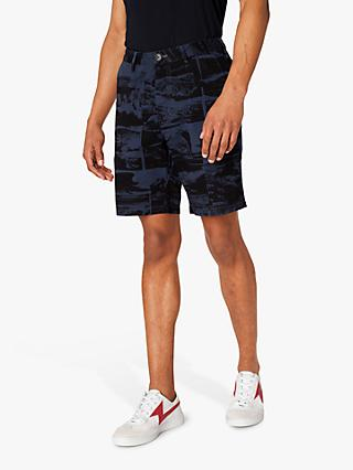 PS Paul Smith Photo Print Shorts, Blue