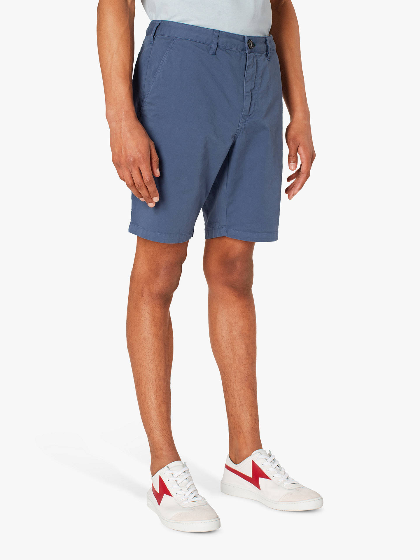PS Paul Smith Stretch Cotton Shorts at John Lewis & Partners