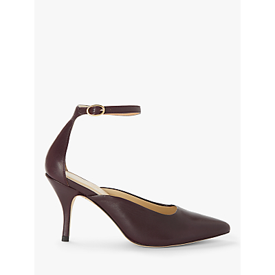 Modern Rarity Alaia Leather Pointed Toe Court Shoes
