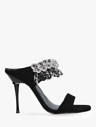 Carvela Galactic Stiletto Heel Sandals, Black