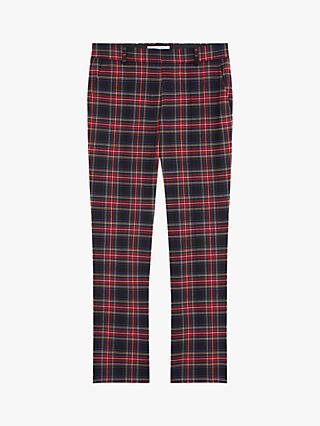 Gerard Darel Pantalon Check Trousers, Multi