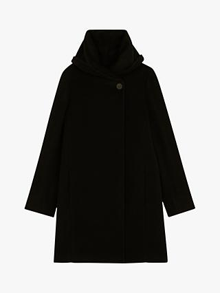 Gerard Darel Mia Wool Coat, Black