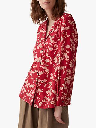 5f92e51794d0c Toast Trailing Floral Silk Pyjama Style Shirt