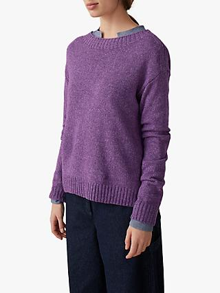 Toast Lambswool Jumper, Lilac