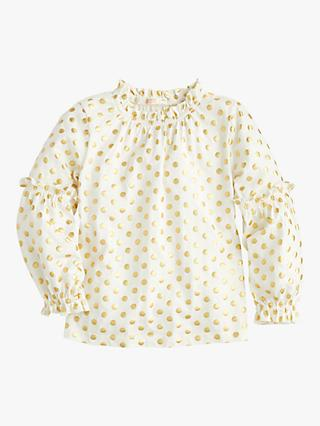 589e4a98a495c crewcuts by J.Crew Girls  Elaine Bubble Sleeve Top
