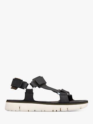 18e18a55d60877 Camper Oruga Leather Sandals