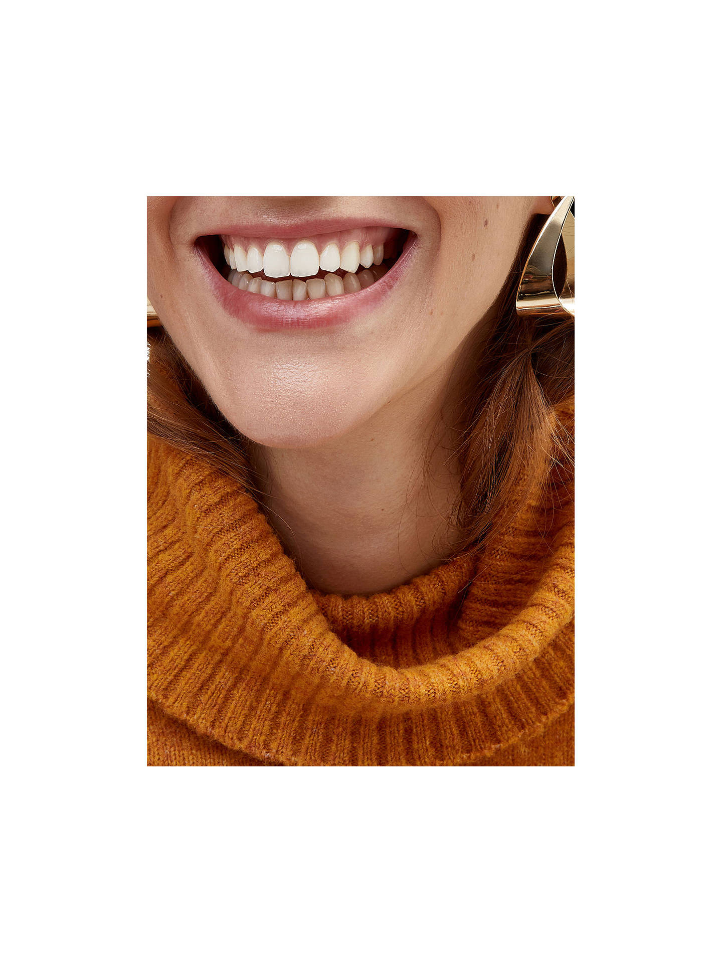 Warehouse Cowl Neck Jumper Orange At John Lewis Partners