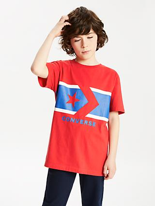 Converse Boys  Chevron Short Sleeve T-Shirt 18e4ef2955ff