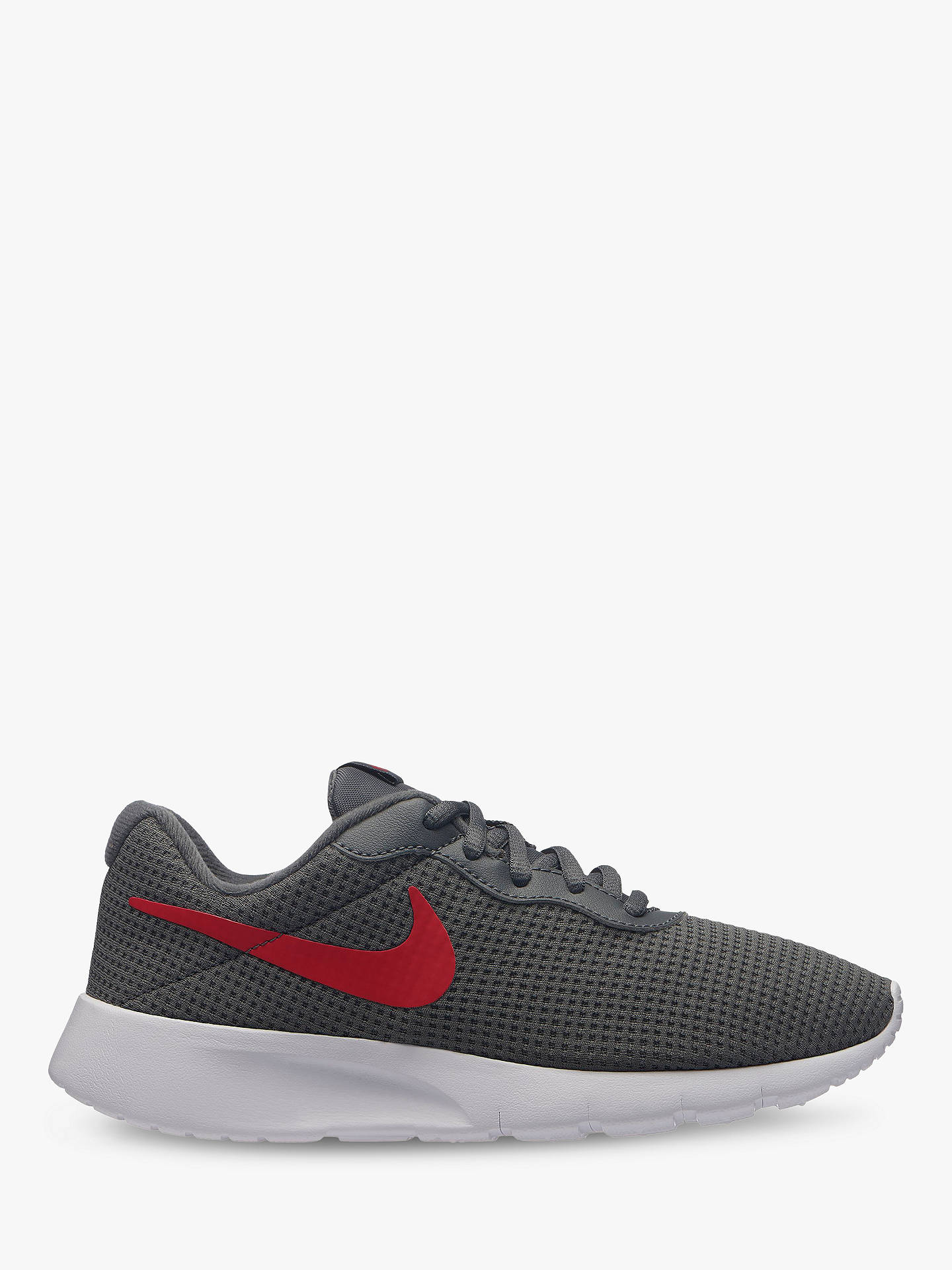 innovative design special for shoe coupon code Nike Children's Tanjun PS Trainers, Dark Grey/Red at John ...