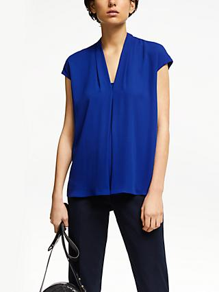 John Lewis & Partners Cora Pleat Front Top