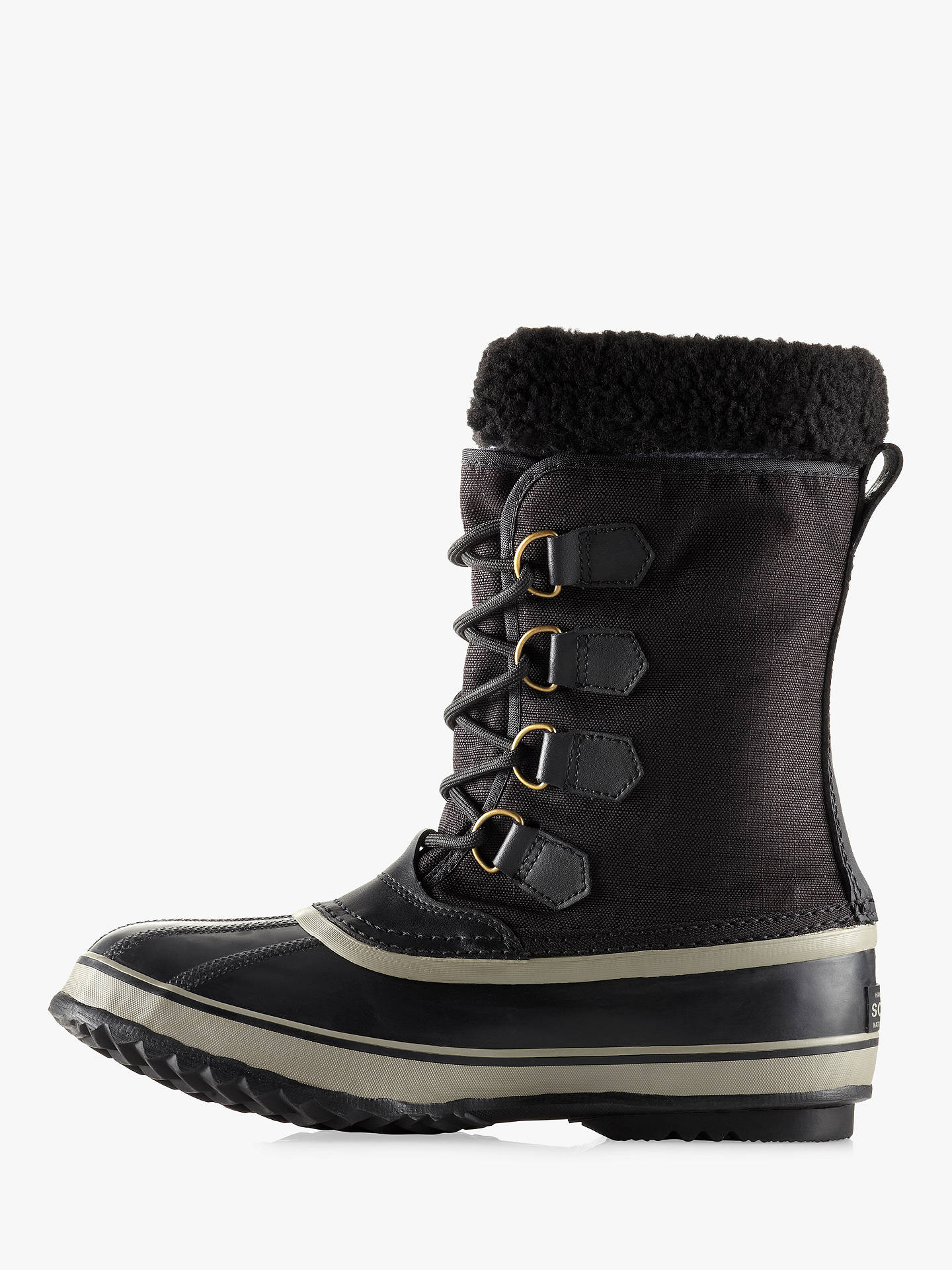 cac1e8df489 Sorel Pac Snow Boot, Black at John Lewis & Partners