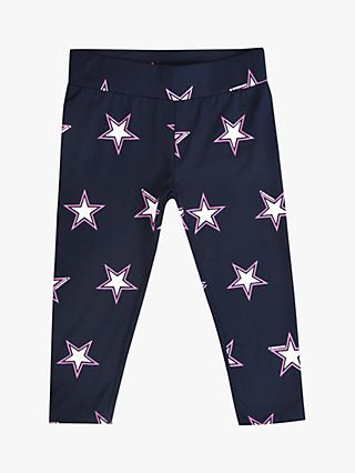 Converse Girls' Leggings, Navy