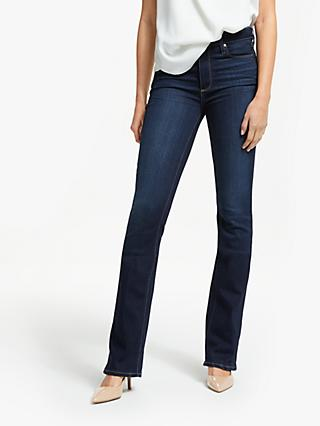 Paige Manhattan High Rise Boot Leg Jeans, Gardena