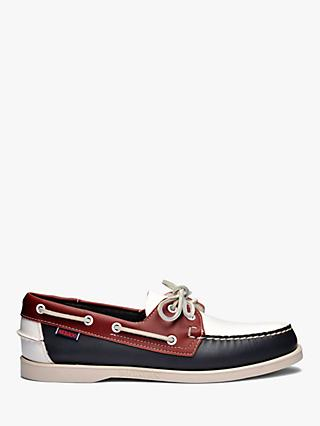 0be146f895 Sebago Portland Spinnaker Leather Boat Shoes