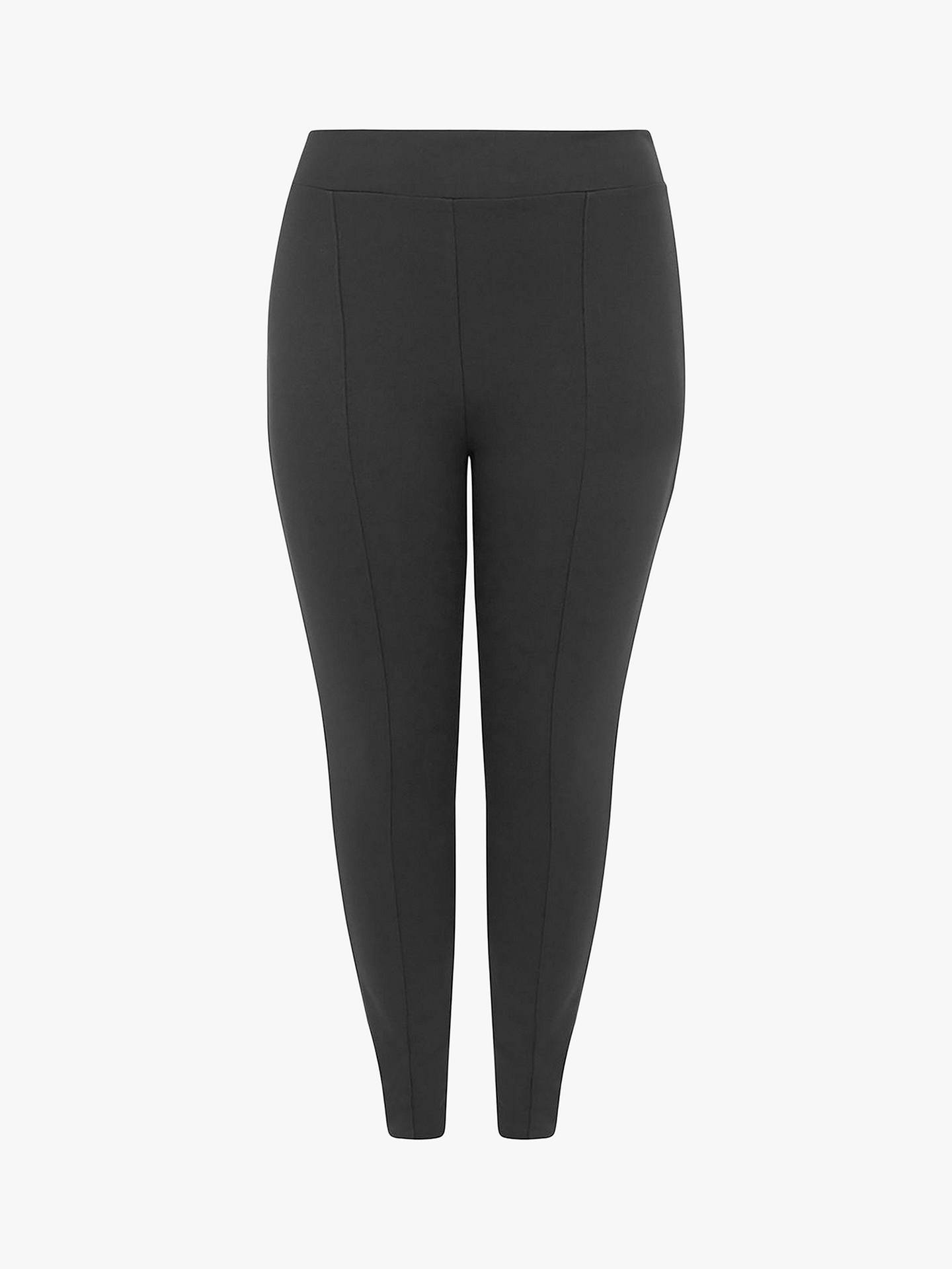 BuyOasis Curve High Waisted Leggings, Black, XL Online at johnlewis.com