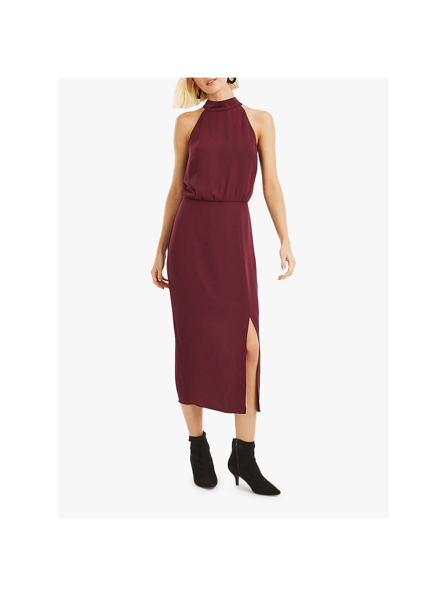 79e4460d6f6b Buy Oasis Halter Column Midi Dress