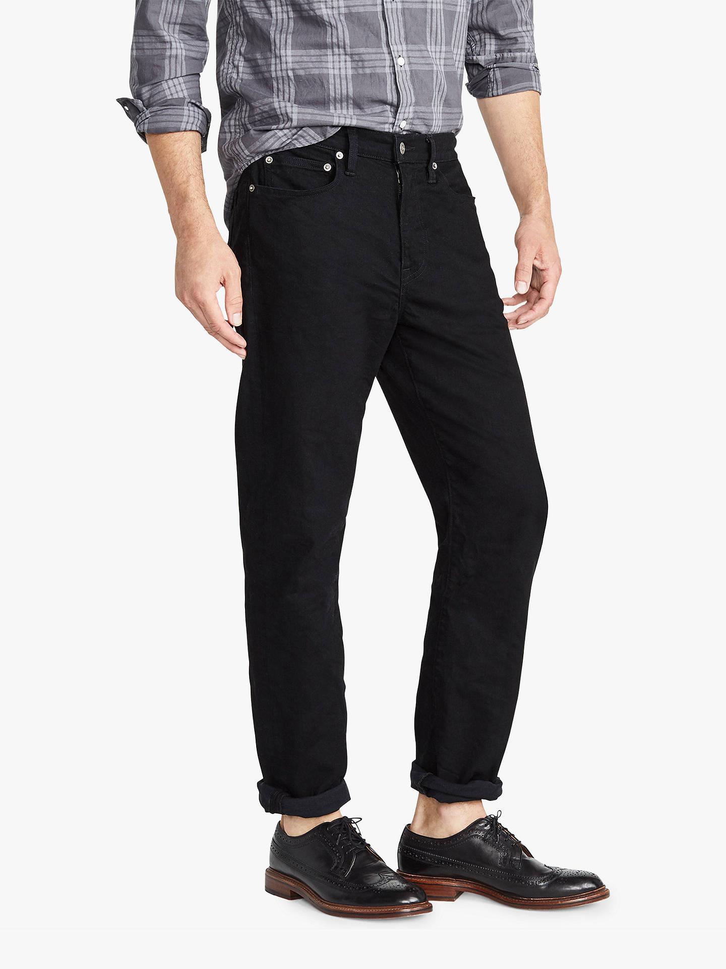 3f0f073bb6 Buy J.Crew 770 Stretch Straight Fit Jeans, Black Rinse, 30R Online at ...