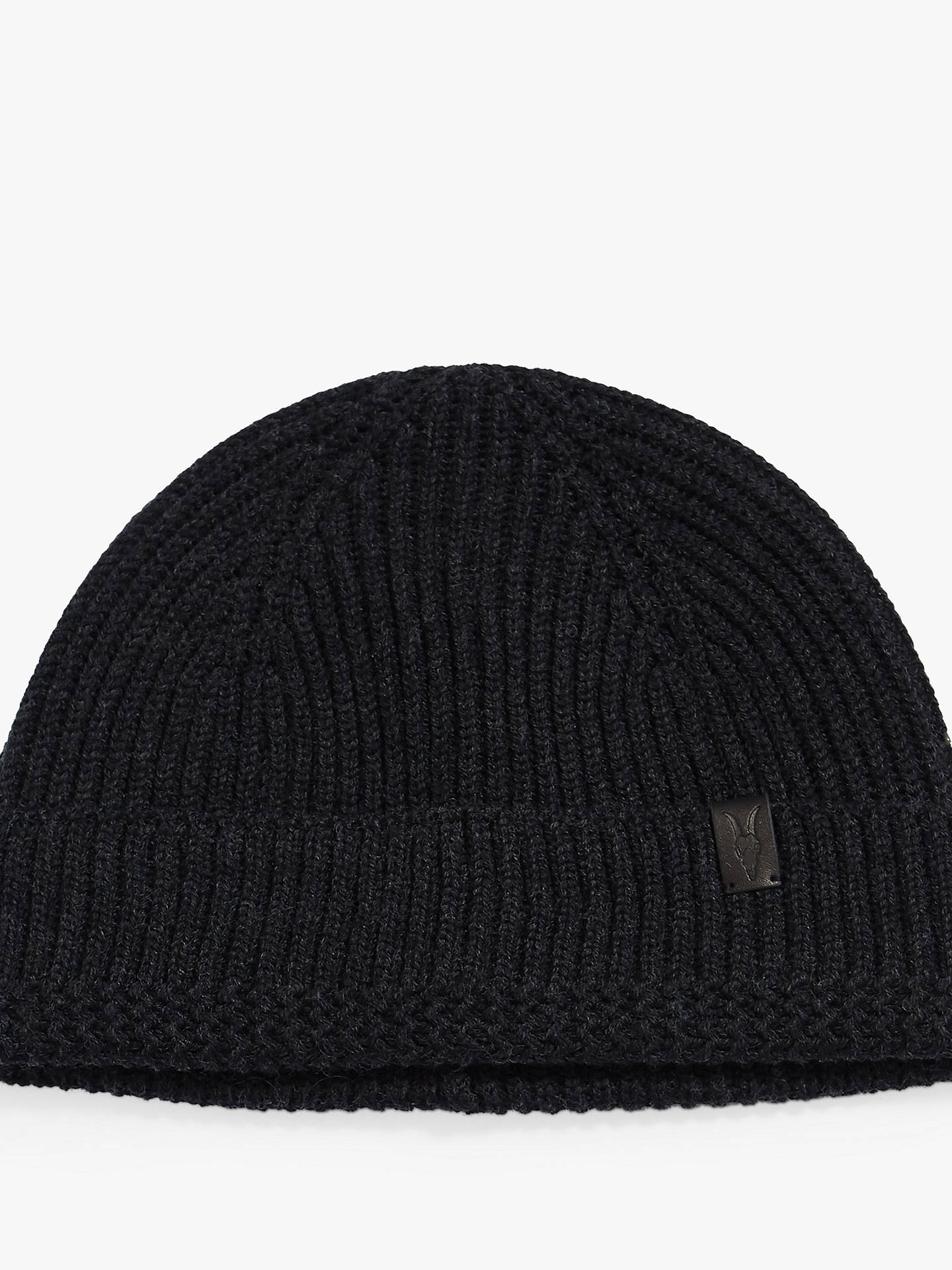 ddae2bd3b AllSaints Merino Beanie Hat at John Lewis & Partners