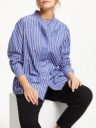 Numph Indie Cotton Shirt, Blue