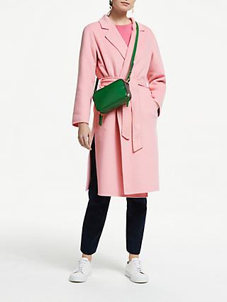 John Lewis & Partners Revere Collar Long Coat