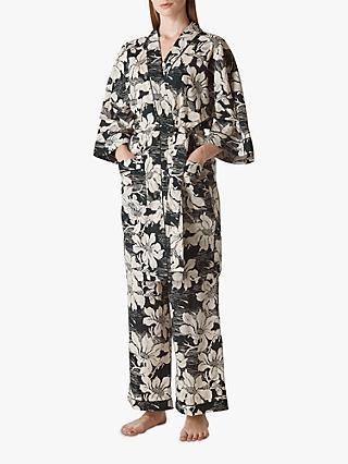 3ef49293cc Whistles Birds Of Paradise Kimono Gown