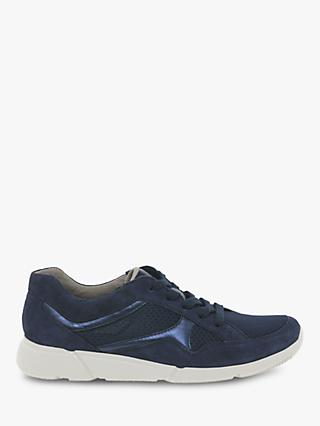 big sale bb0a0 ce559 Gabor Ava Low Profile Lace Up Trainers