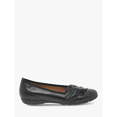 Image of Gabor Claredon Tie Detail Pumps, Black