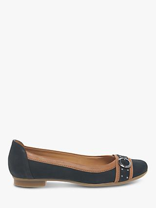 Gabor Michelle Pumps Belt And Stud Embellished Pumps, Navy