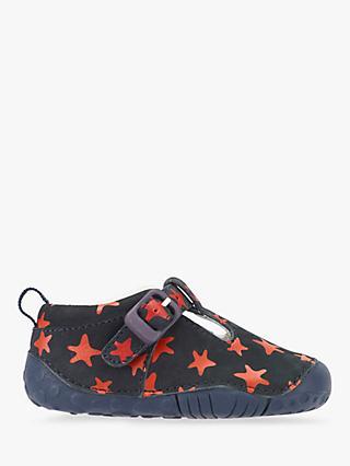 b9684955ddc6 Start-rite Children s Baby Jack Star Print First Shoes