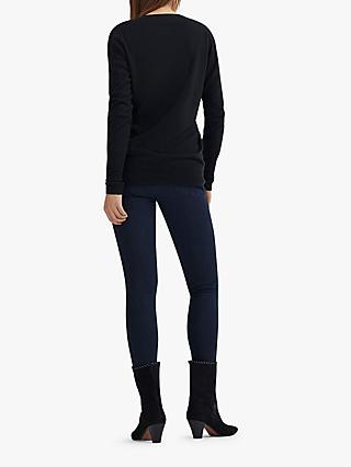 AG The Mila Super High Rise Skinny Ankle Jeans, Blue