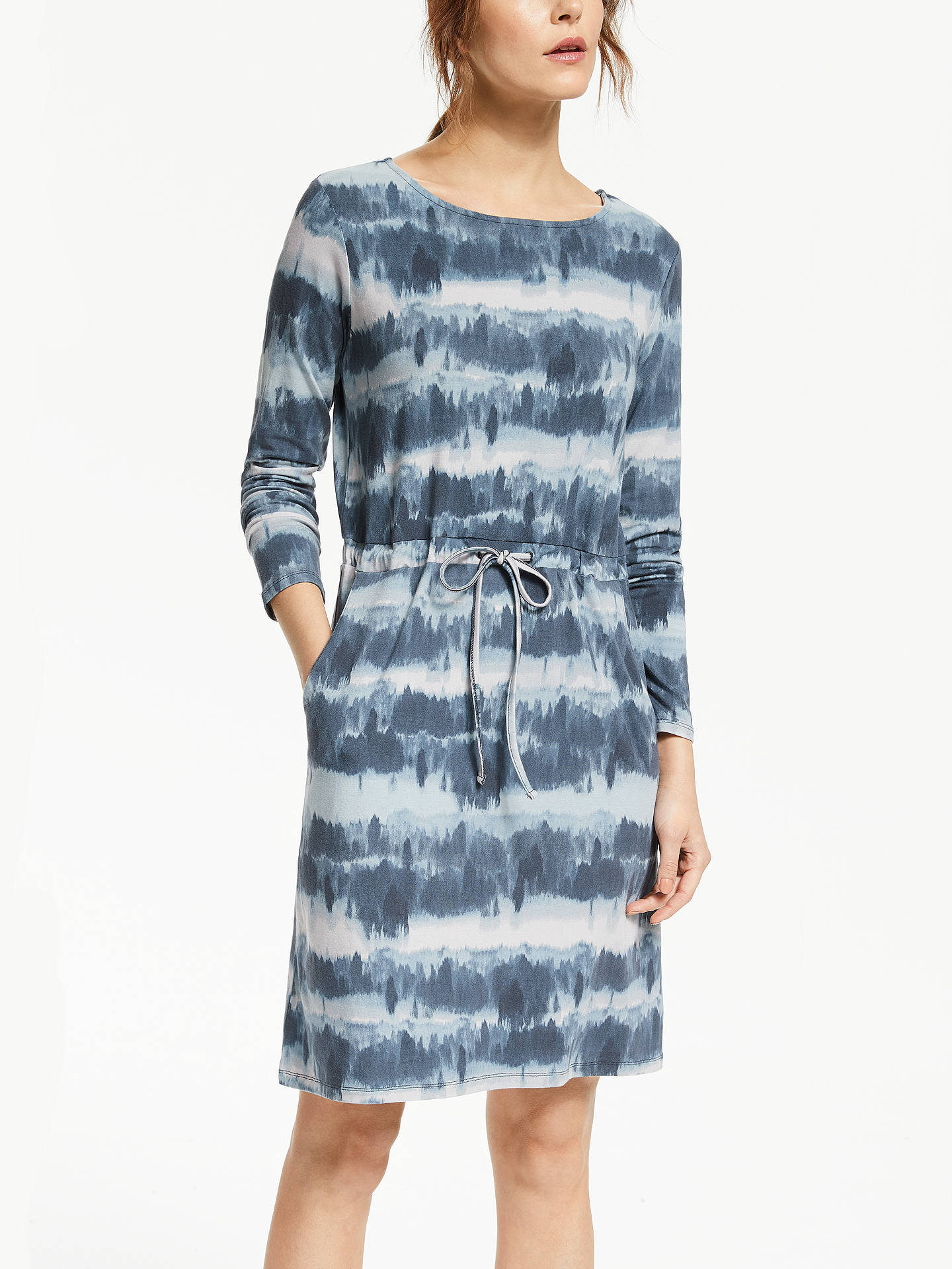 8237c5547b Buy Thought Ingryd Bamboo Dress, Ocean Blue, 14 Online at johnlewis.com ...
