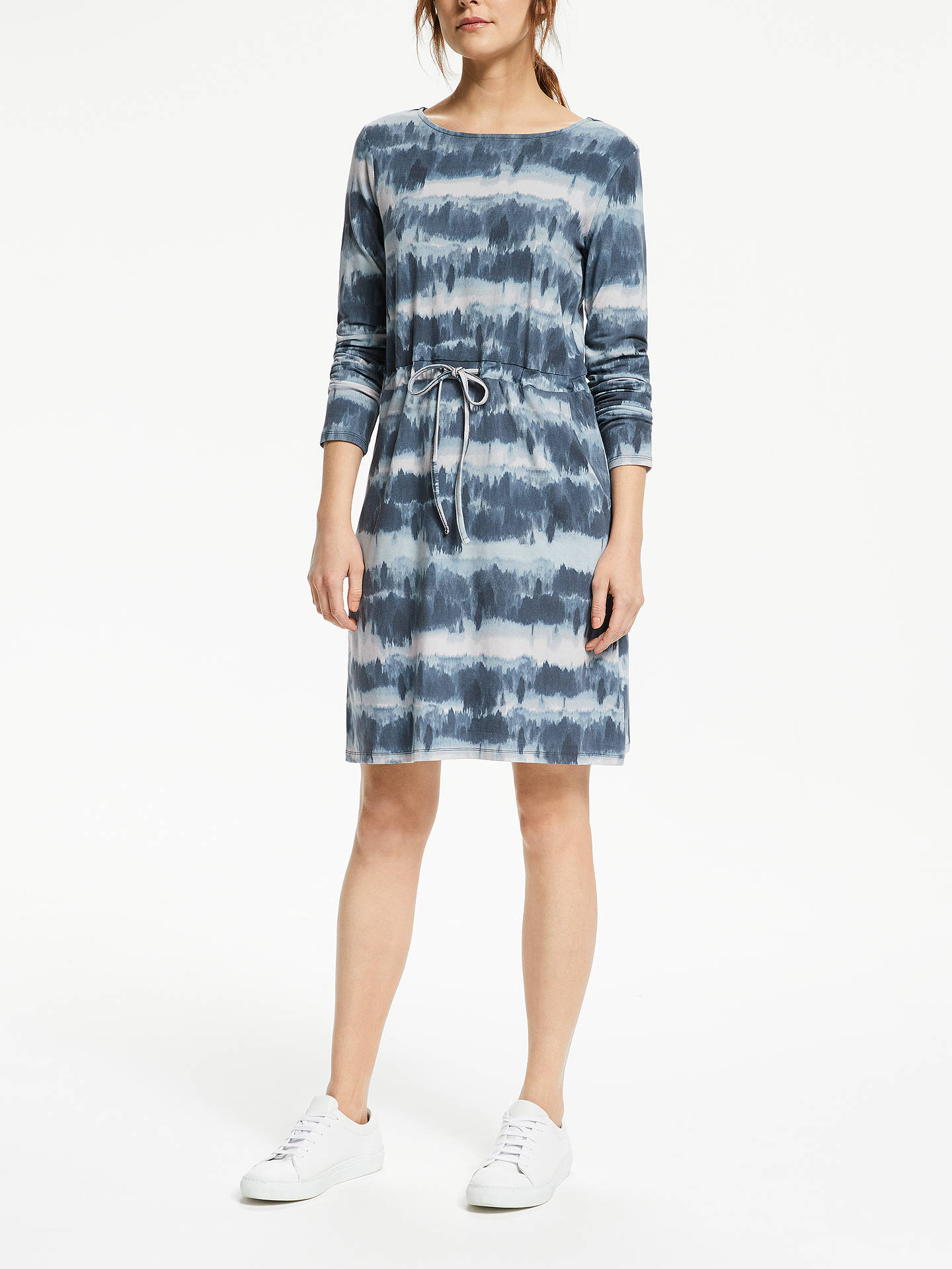 84f8d92b51 ... Buy Thought Ingryd Bamboo Dress, Ocean Blue, 14 Online at johnlewis.com  ...