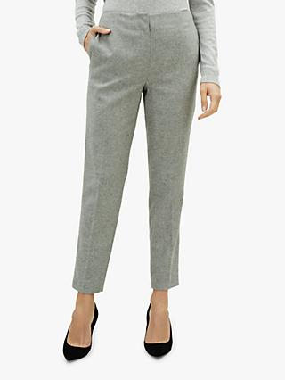 Jaeger Flannel Trousers, Grey