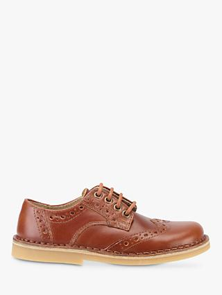 Start-rite Children's Tiptoe Brogue Shoes, Tan