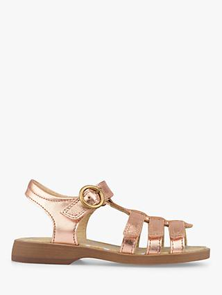 Start-rite Children's Carousel Sandals, Rose Gold
