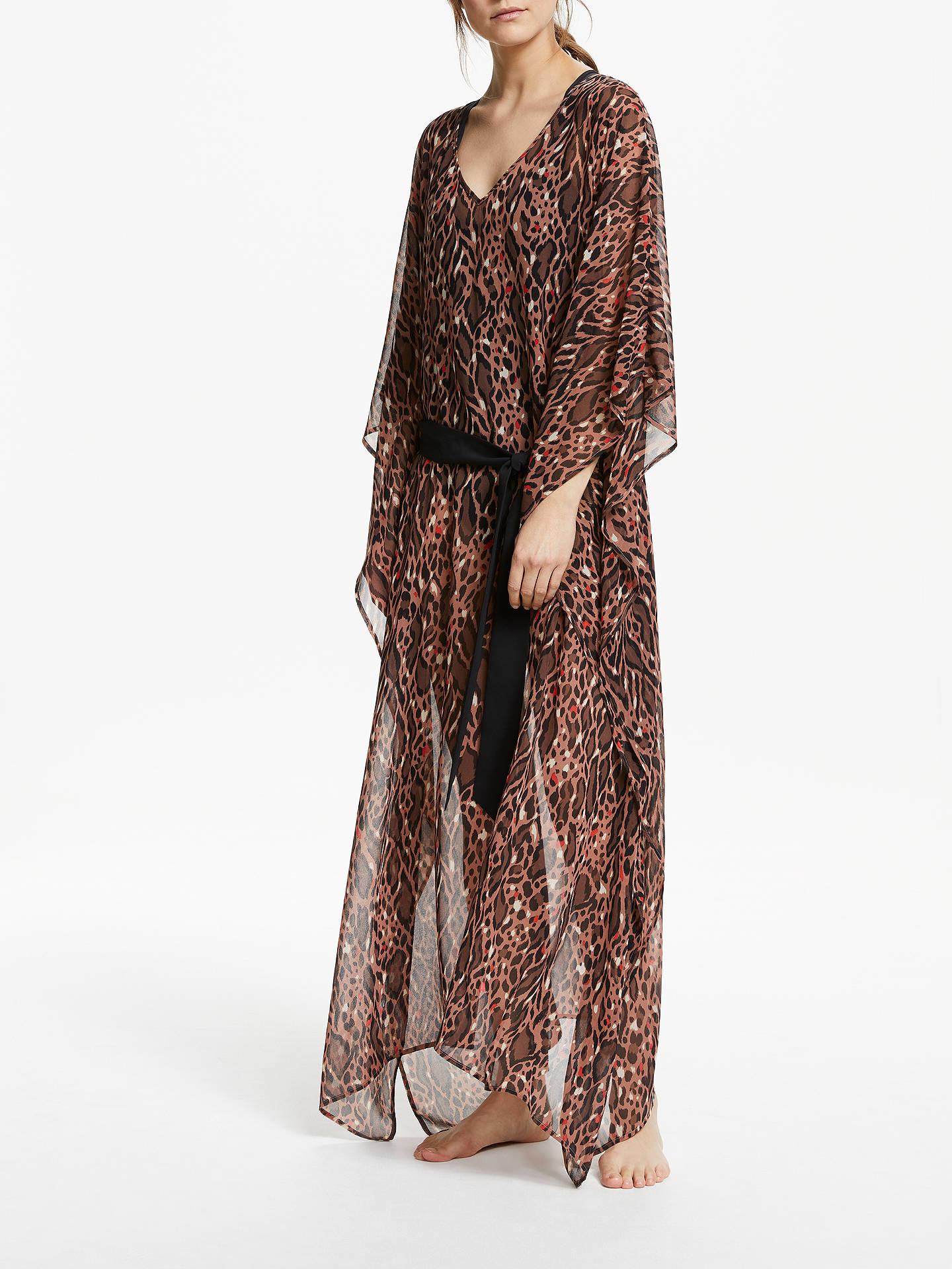 2ae38144706 Buy Somerset by Alice Temperley Leopard Print Kaftan Maxi Dress